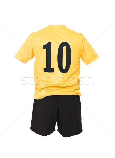 Football shirt with number 10 Stock photo © gemenacom