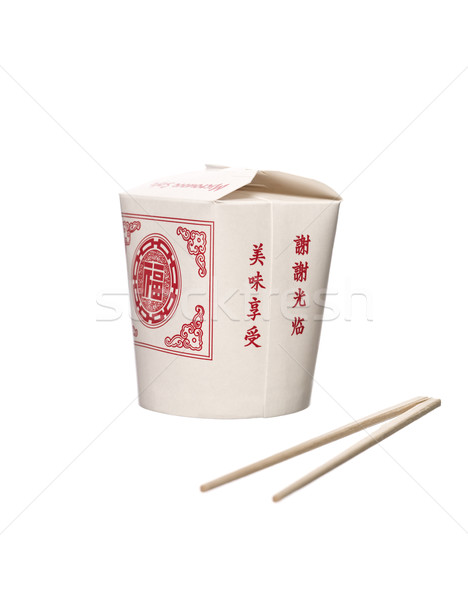 Chinese Takeout food container Stock photo © gemenacom
