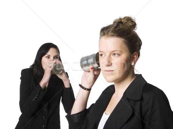 Old fashion Communication Stock photo © gemenacom