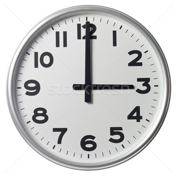 Stock photo: Three O'Clock