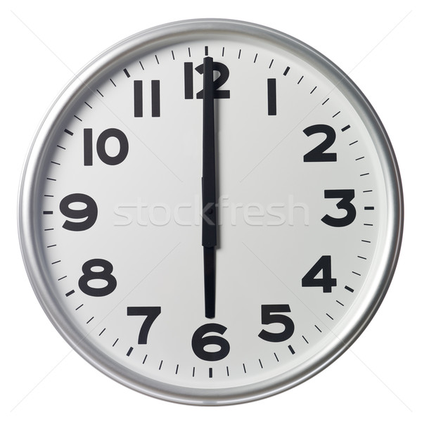 Six O'Clock Stock photo © gemenacom