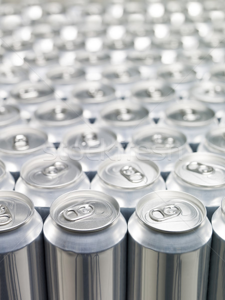 Aluminium Cans Stock photo © gemenacom