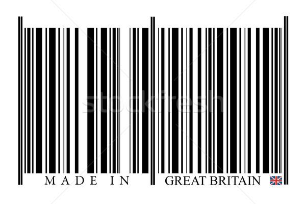 Groot-brittannië barcode witte technologie zwarte markt Stockfoto © gemenacom