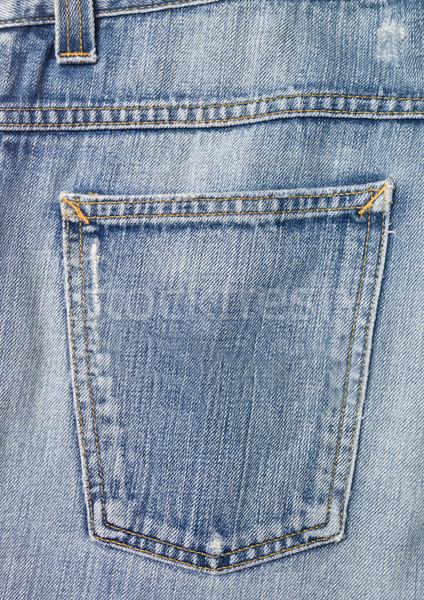Full frame of jeans Stock photo © gemenacom