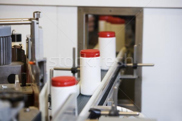 Műanyag gyártás vonal technológia ipar Stock fotó © gemenacom