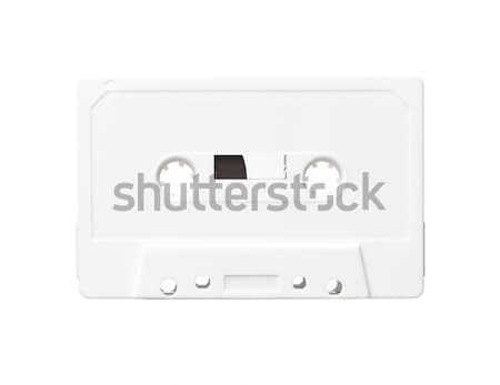 White audio cassette Stock photo © gemenacom