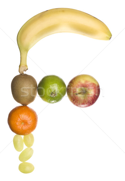 The letter 'F' made out of fruit Stock photo © gemenacom