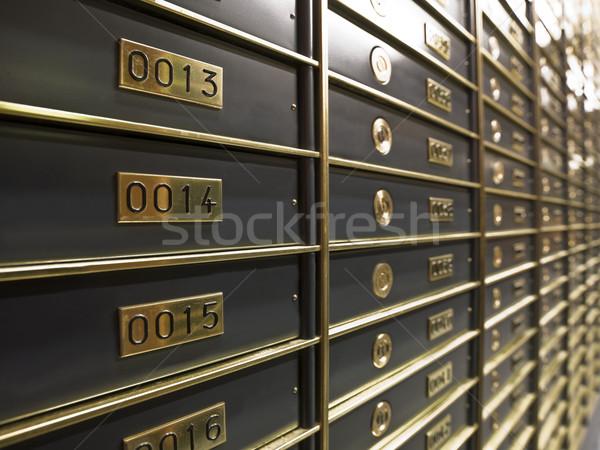 ストックフォト: 豪華な · 安全 · ボックス · 銀行