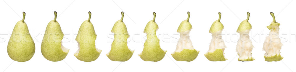 Stock photo: Pear Time Lapse