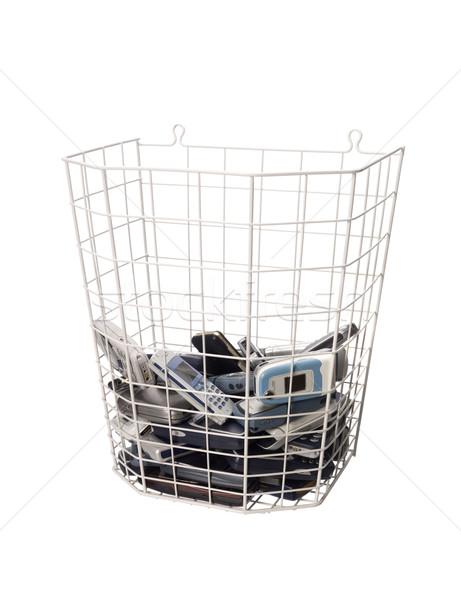 Basket with cellphones Stock photo © gemenacom