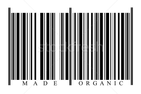 Organic Barcode Stock photo © gemenacom