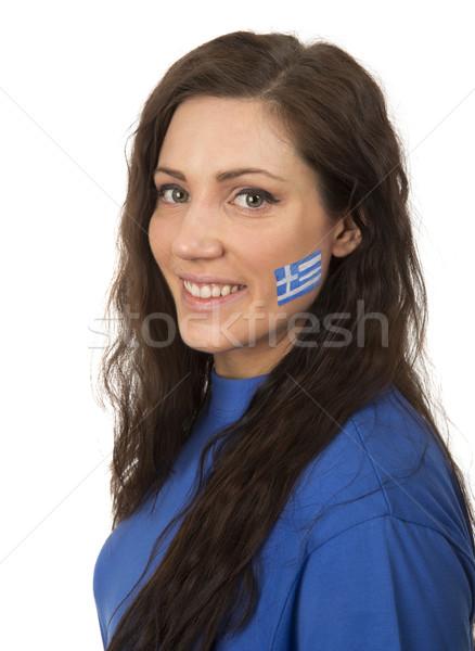 Greece Girl Stock photo © gemenacom