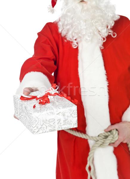サンタクロース 提供すること ギフト 孤立した 白 楽しい ストックフォト © gemenacom