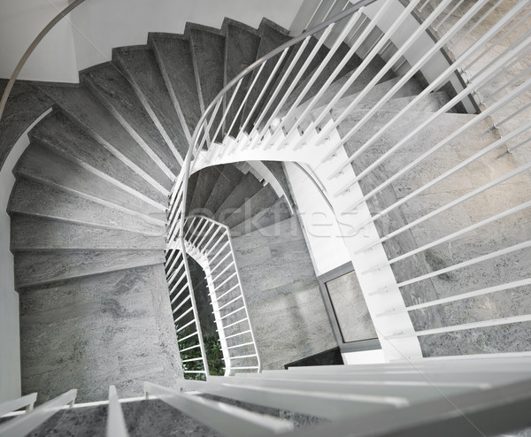 Retro Staircase Stock photo © gemenacom