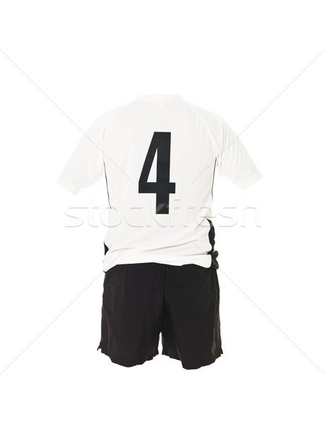 Football shirt with number 4 Stock photo © gemenacom