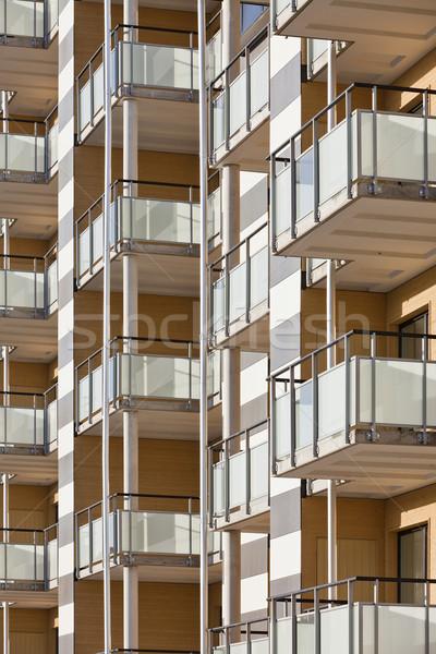 Apartment Block Stock photo © gemenacom