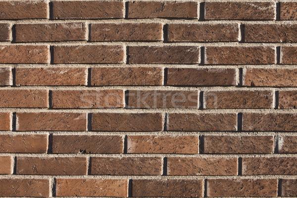 Mur de briques mur concrètes modèle horizons Photo stock © gemenacom