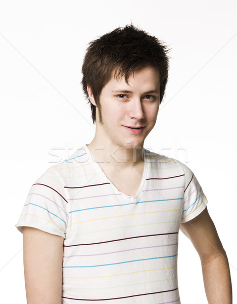 Portrait of a young man Stock photo © gemenacom