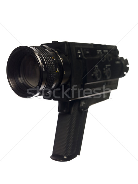 Vintage Movie Camera Stock photo © gemenacom