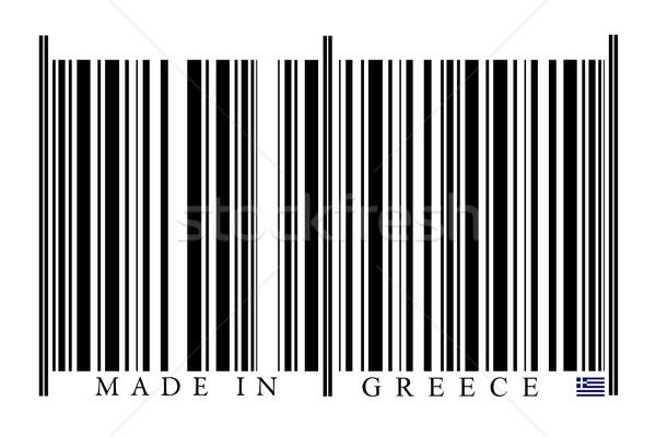 Greece Barcode Stock photo © gemenacom