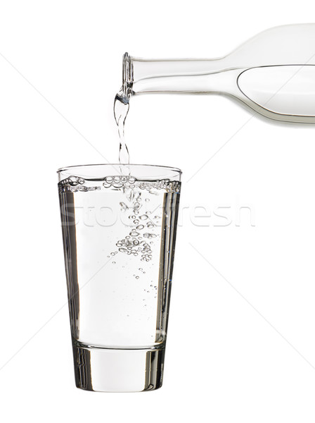 Pouring water Stock photo © gemenacom