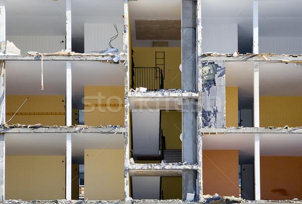 Damaged apartment Stock photo © gemenacom