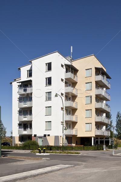 Modern apartments Stock photo © gemenacom