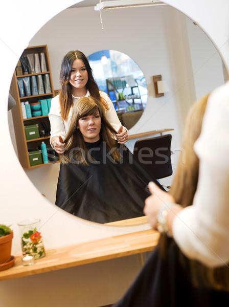 Beauty salon situation Stock photo © gemenacom