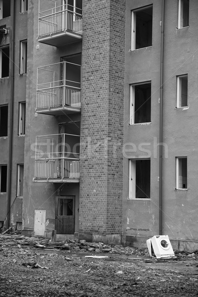 Recidence Demolishing Stock photo © gemenacom
