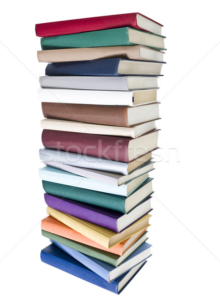 Pile of Books with different colors Stock photo © gemenacom