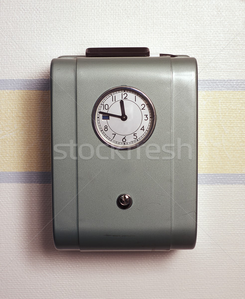 Retro Time Clock Stock photo © gemenacom