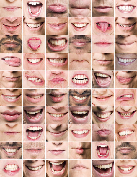 Mouths Stock photo © gemenacom