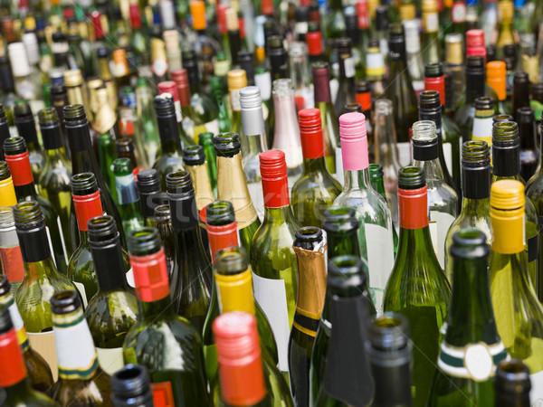 üvegek full frame üres absztrakt üveg konténer Stock fotó © gemenacom
