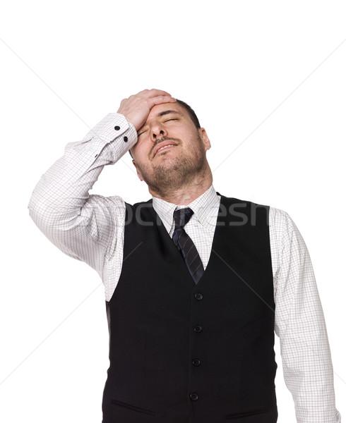 Frustrated man Stock photo © gemenacom