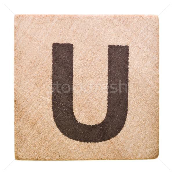 Letter U Stock photo © gemenacom