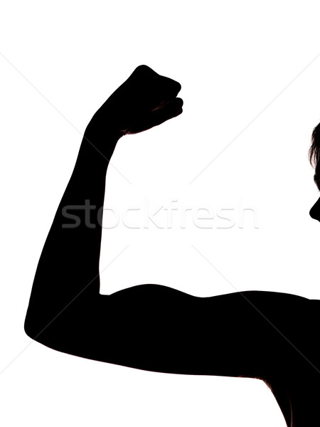 Showing the arm muscles Stock photo © gemenacom
