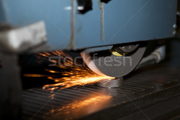 Laser cutting Stock photo © gemenacom