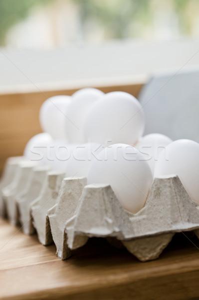 Egg Carton Stock photo © gemenacom