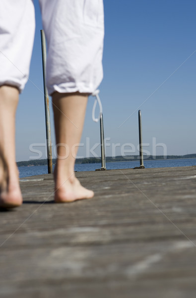 Barefoot Stock photo © gemenacom