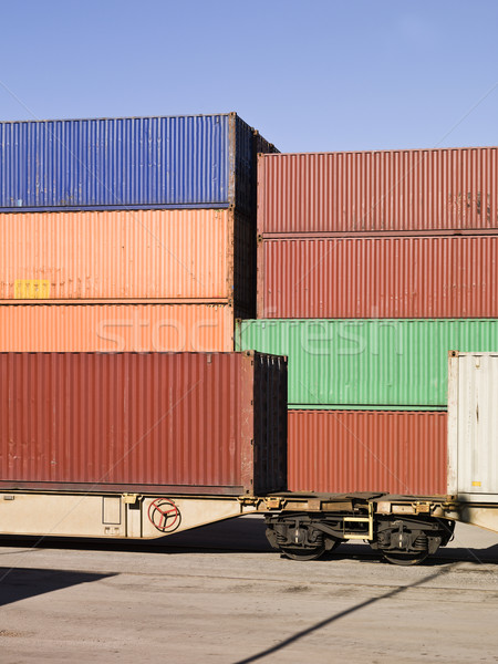 Cargo Containers Stock photo © gemenacom