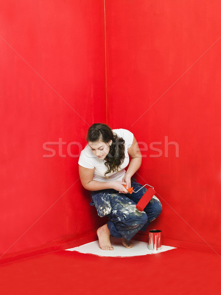 Stock photo: Painting Problems