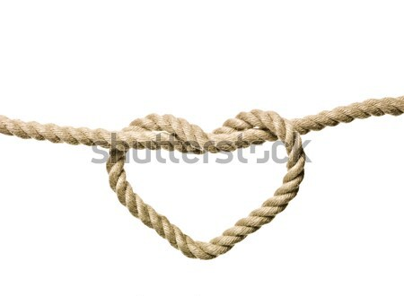 Heart Shaped Knot Stock photo © gemenacom