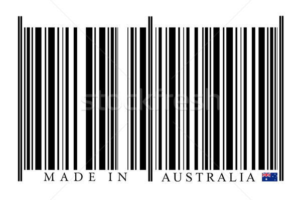 Australian Barcode Stock photo © gemenacom