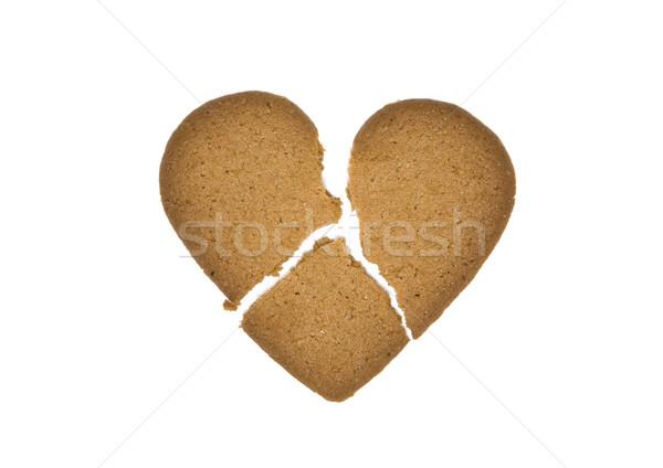 Gingerbread in three pieces Stock photo © gemenacom