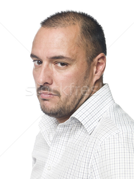 Portrait of a sad man Stock photo © gemenacom