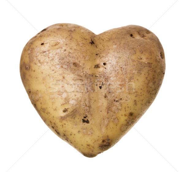 Heartshaped Potato Stock photo © gemenacom