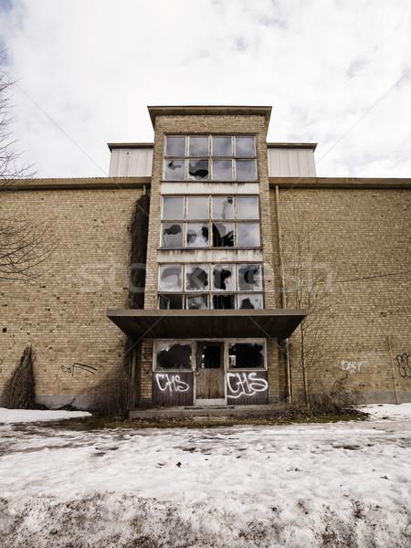 Ruined building Stock photo © gemenacom