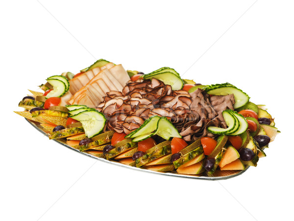 Delicacy Plate Stock photo © gemenacom