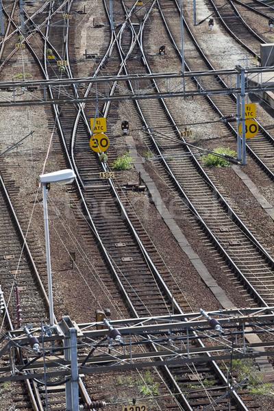 Trane line crossings Stock photo © gemenacom