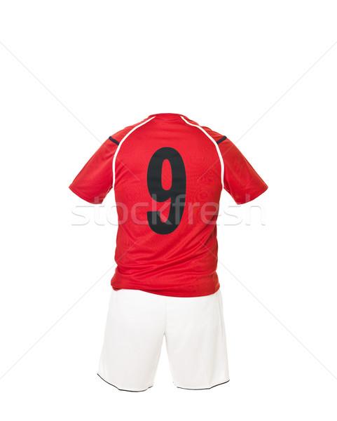 Football shirt with number 9 Stock photo © gemenacom